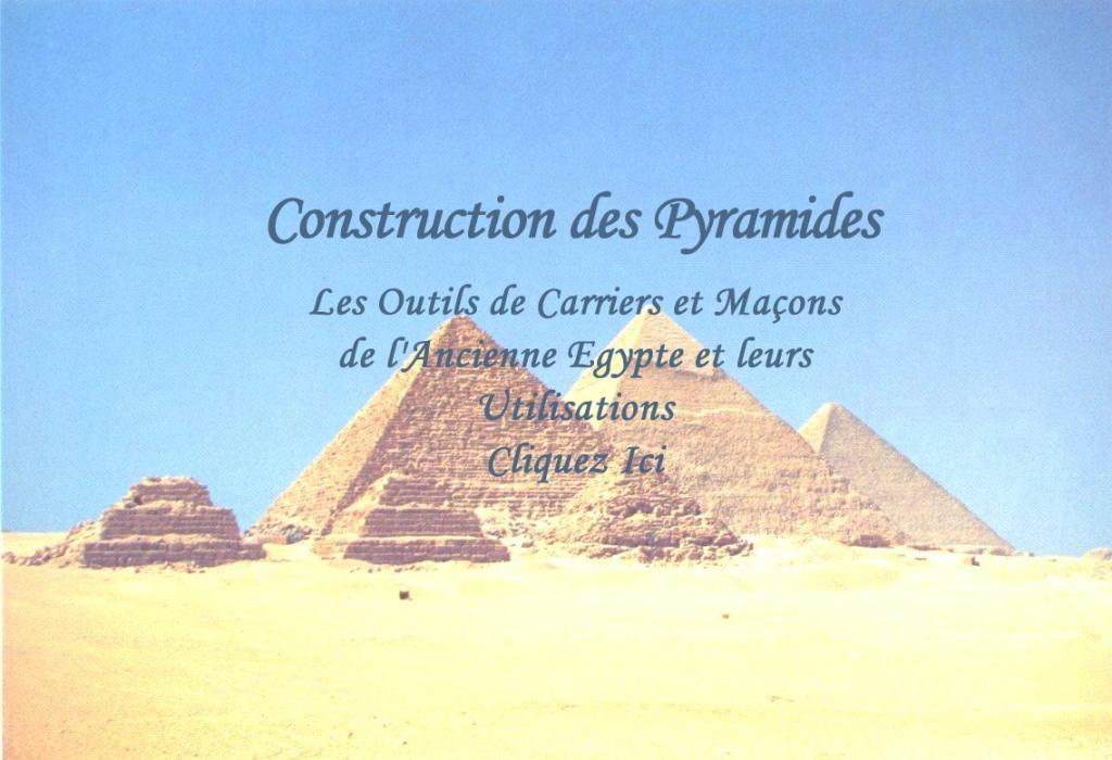 Construction des pyramides egypte pyramide p - Construction pyramide du louvre ...